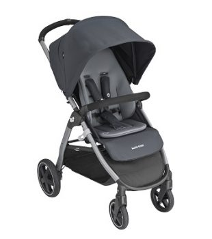 maxicosi stroller urban gia grey essentialgraphite 3qrtright Frombirth Urban